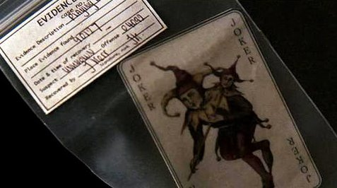 Batman Begins Joker Card The Dark Knight Interr...
